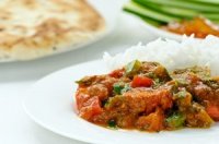 Jalfrezi - serving suggestion