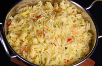Pilau Rice - serving suggestion